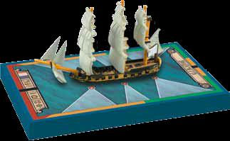 Sails Of Glory: Alligator 1782 French Ship Sloop Ship Pack Box Front