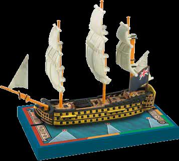 Sails Of Glory: Hms Royal Sovereign 1786 British Sotl Ship Pack Box Front
