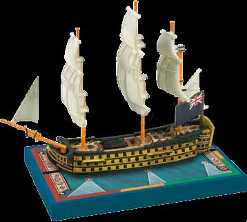 Sails Of Glory: Hms Royal George 1788 British Sotl Ship Pack Box Front