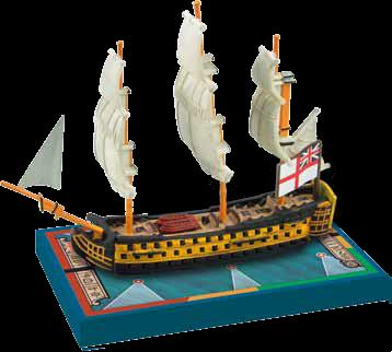 Sails Of Glory: Hms Queen Charlotte 1790 British Sotl Ship Pack Box Front