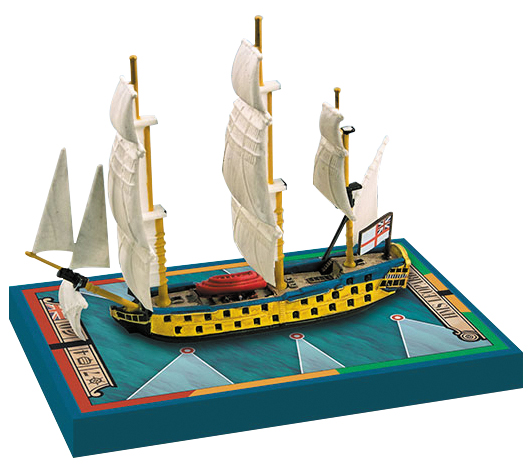Sails Of Glory: Hms Leopard 1790/hms Isis 1774 Box Front