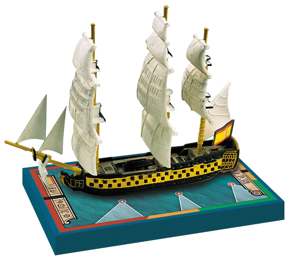 Sails Of Glory: Real Carlos 1787/conde De Regla 1786 Box Front