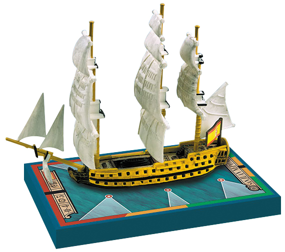 Sails Of Glory: San Juan Nepomuceno 1766/ San Francisco De Asis 1767 Box Front