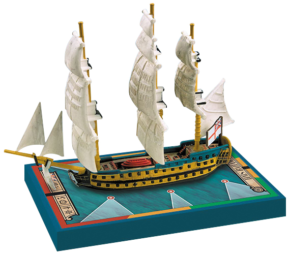 Sails Of Glory: Hms Bahama 1805/hms San Juan 1805 Box Front