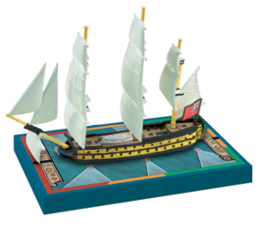 Sails Of Glory: Hms Agamemnon 1781/hms Raisonnable 1768 Box Front
