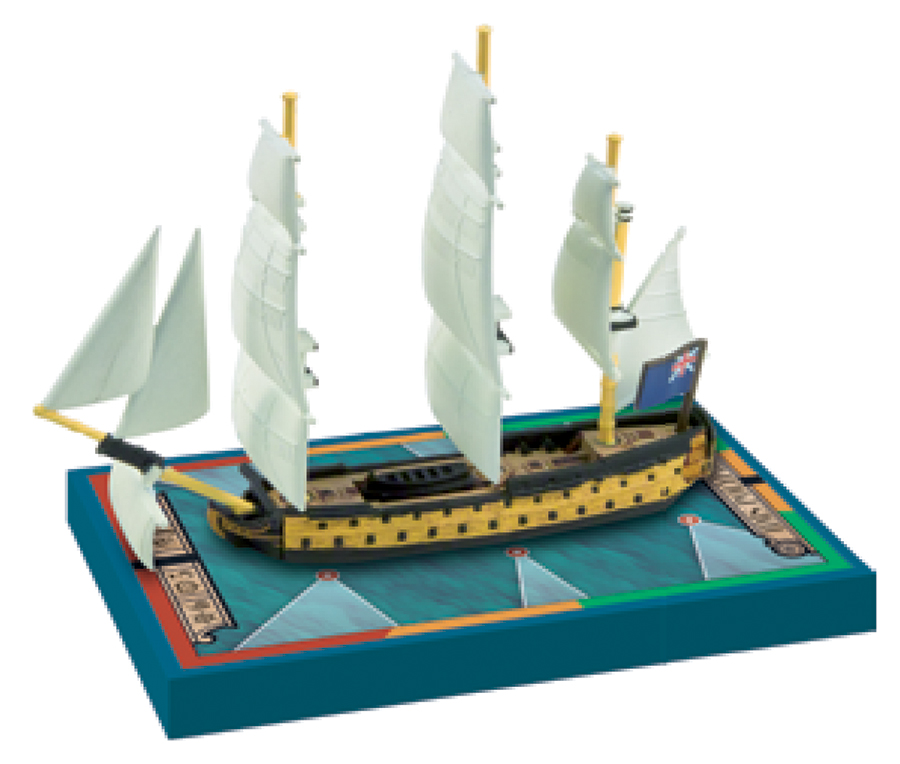 Sails Of Glory: Hms Polyphemus 1782/hms America 1777 Box Front