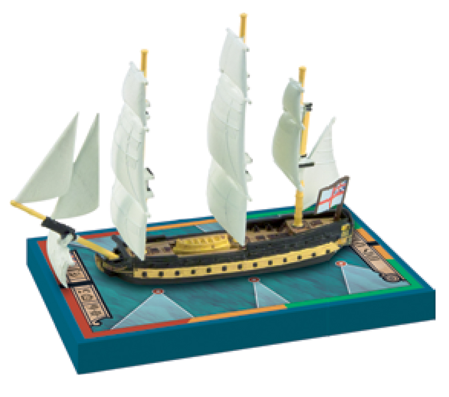 Sails Of Glory: Hms Africa 1781/hms Vigilant 1774 Box Front