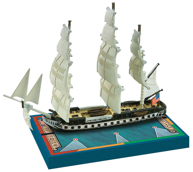 Sails Of Glory: Uss Constitution 1797 (1812) Special Ship Pack Box Front
