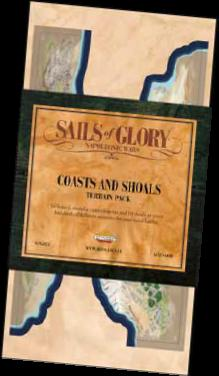 Sails Of Glory: Terrain Pack - Coasts And Shoals Game Box