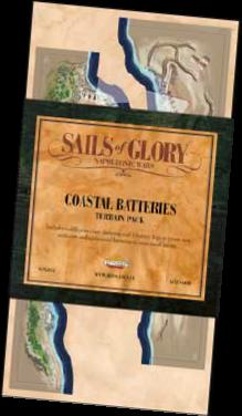 Sails Of Glory: Terrain Pack - Coastal Batteries Game Box