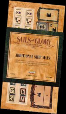 Sails Of Glory: Additional Ship Mats Box Front