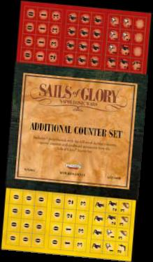 Sails Of Glory: Additional Counter Set Box Front