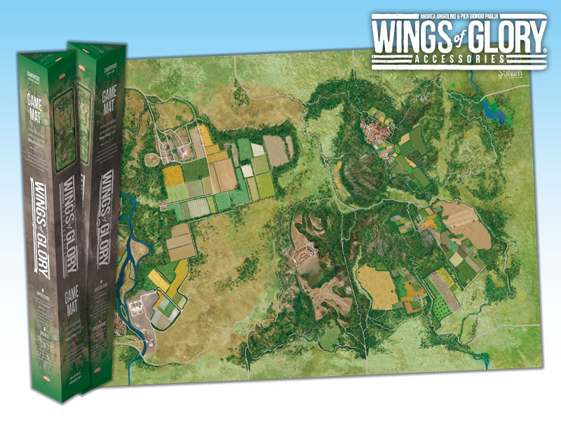 Wings Of Glory: Countryside Game Mat Box Front