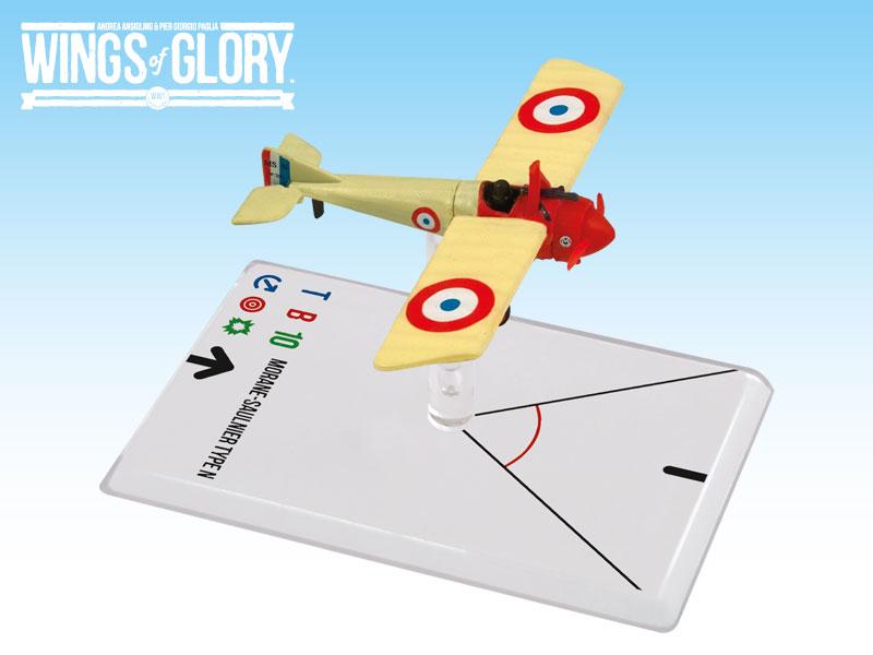 Wings Of Glory: 3x3 Morane-saulnier N Navarre Box Front