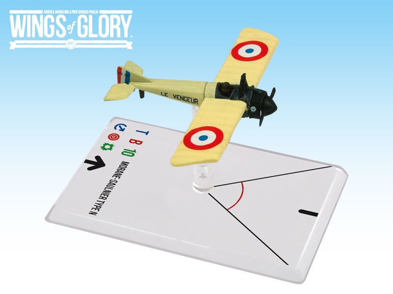 Wings Of Glory: 3x3 Morane-saulnier N Gilbert Box Front
