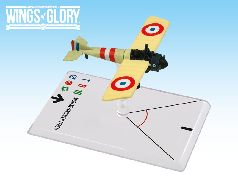 Wings Of Glory: 3x3 Morane-saulnier N Chaput Box Front