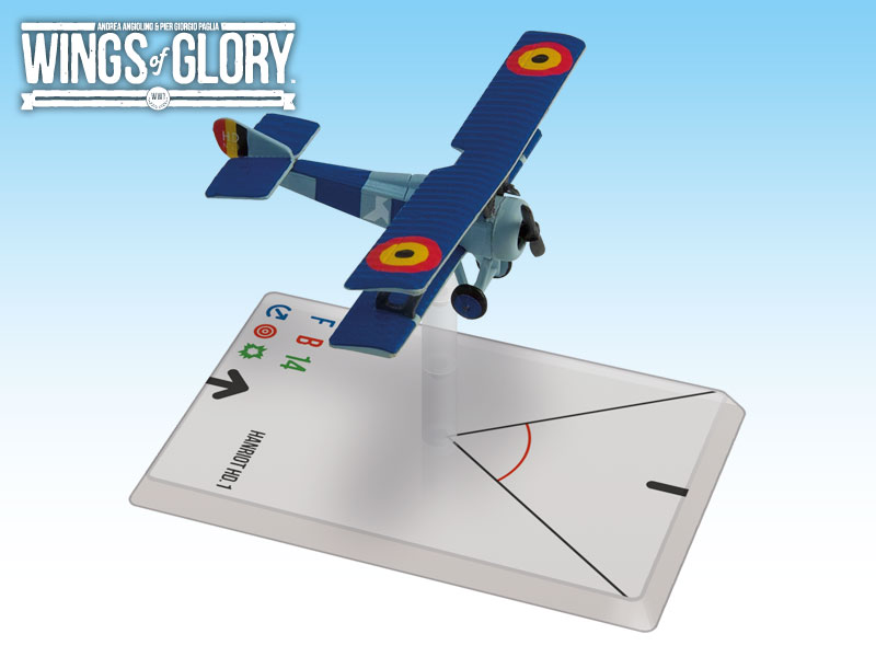 Wings Of Glory: Hanriot Hd.1 Coppens Box Front