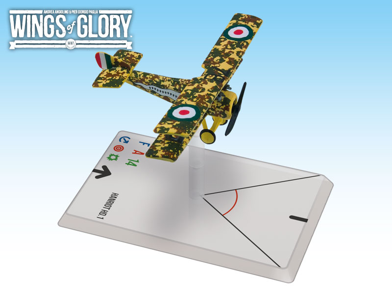Wings Of Glory: Hanriot Hd.1 Fucini Box Front