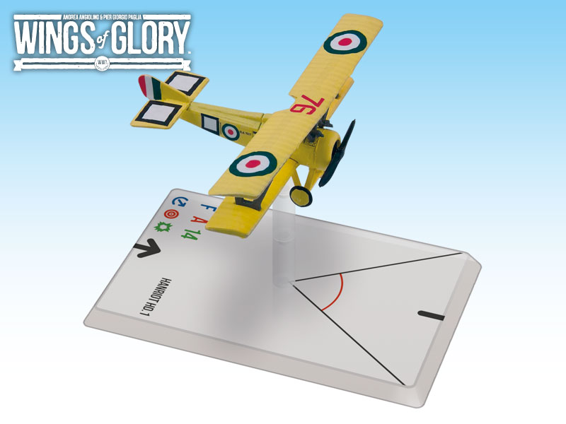Wings Of Glory: Hanriot Hd.1 Scaroni Box Front