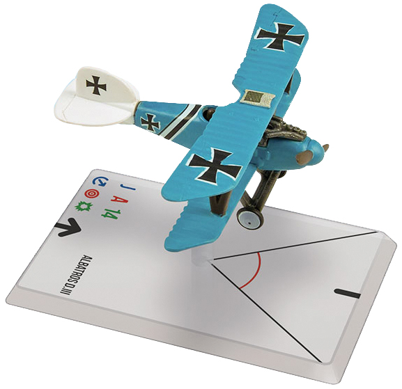 Wings Of Glory: Albatros Diii(frommherz) Box Front