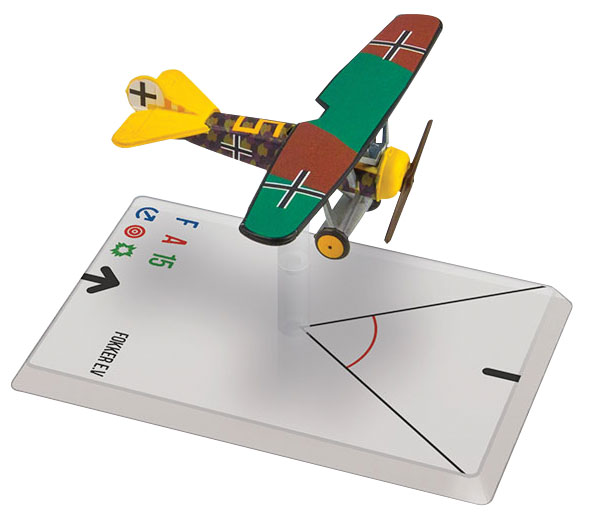 Wings Of Glory: Fokker E.v (sharon) Box Front