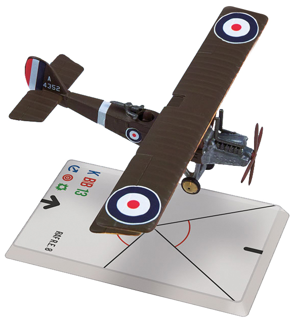 Wings Of Glory: Raf Re8(30 Squadron) Box Front