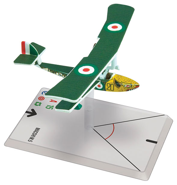 Wings Of Glory: Macchi M.5 (arcidiacono) Box Front