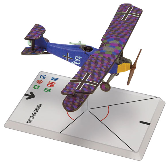 Wings Of Glory: Macchi M.5 - Hannover Cl.iiia (luftstreitkrafte) Box Front