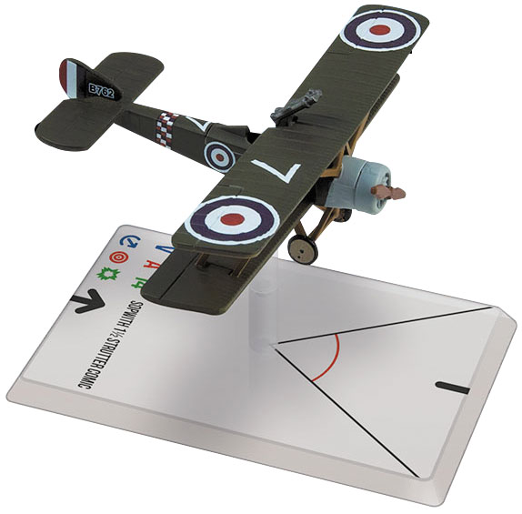 Wings Of Glory: Sopwith 1 1/2 Strutter Comic (78 Squadron) Box Front