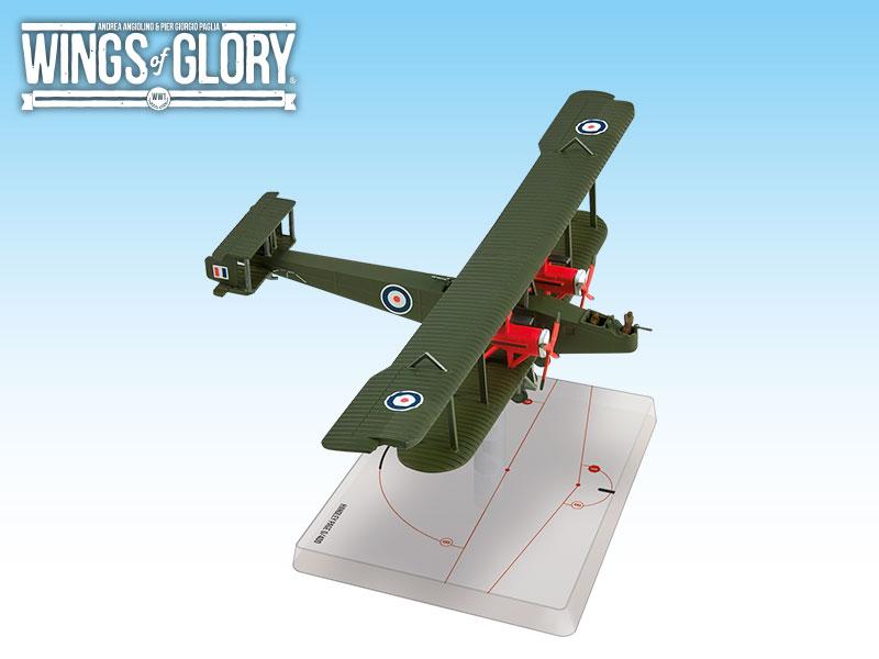 Wwi Wings Of Glory Handley B Game Box