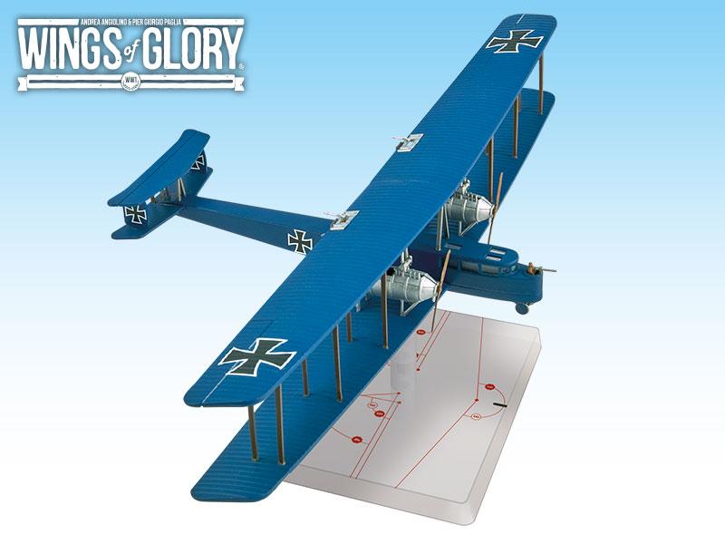Wwi Wings Of Glory Zeppelin Staaken A Game Box