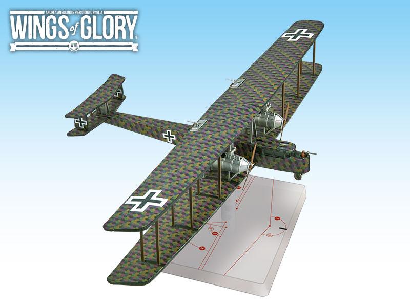 Wwi Wings Of Glory Zeppelin Staaken B Game Box