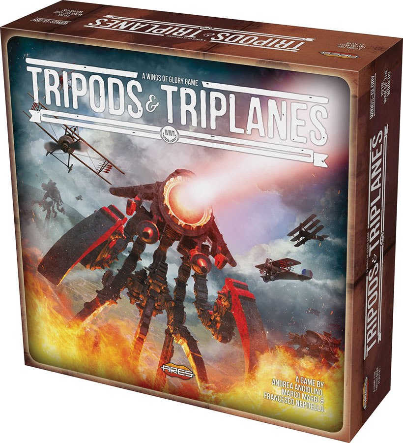 Wings Of Glory: Tripods & Triplanes Starter Set Game Box