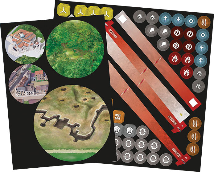 Wings Of Glory: Tripods & Triplanes Additional Counter Set Game Box