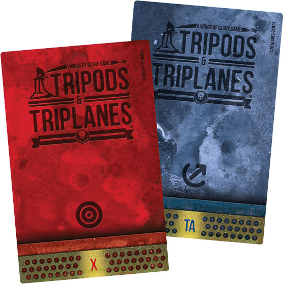 Wings Of Glory: Tripods & Triplanes Additional Damage Decks Game Box