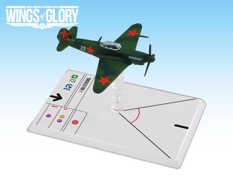 Wings Of Glory: 2x3 Yakovlev Yak-1 Litvjak Box Front