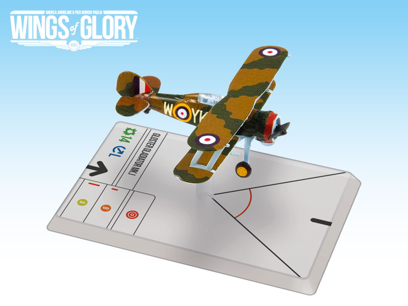 Wings Of Glory: Gloster Gladiator Mk.i (pattle) Box Front