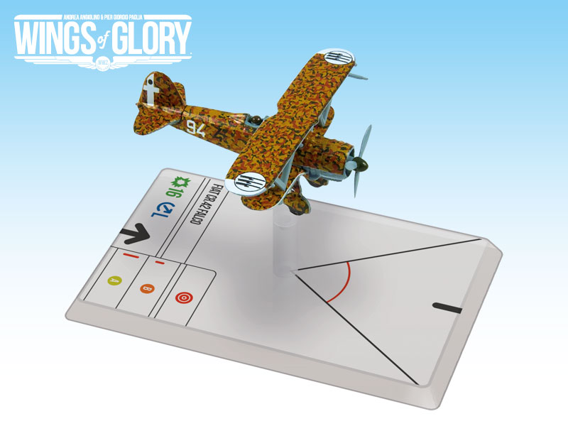 Wings Of Glory: Fiat Cr-42 Falco (rinaldi) Box Front