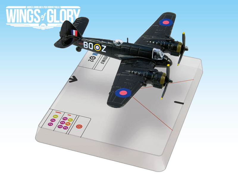 Wings Of Glory: Bristol Beaufighter Mk.if (boyd) Box Front