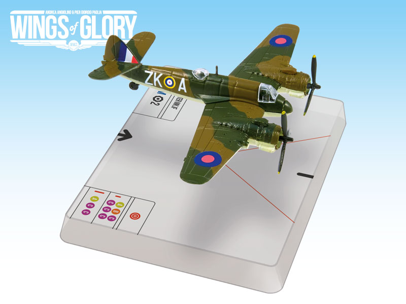 Wings Of Glory: Bristol Beaufighter Mk.if (herrick) Box Front