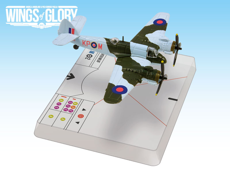 Wings Of Glory: Bristol Beaufighter Mk.vif (dav Oud) Box Front