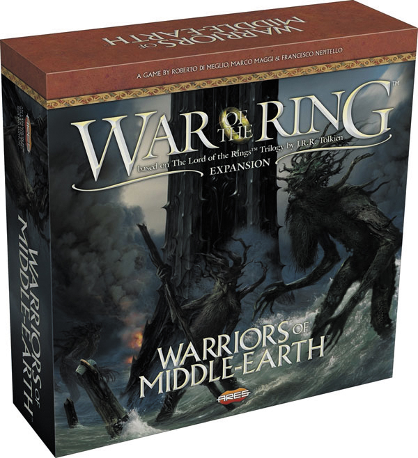 War Of The Ring: Warriors Of Middle-earth Box Front