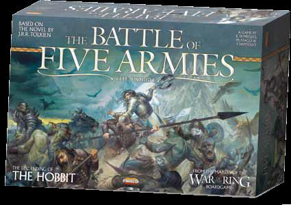 War Of The Ring: The Battle Of Five Armies Box Front