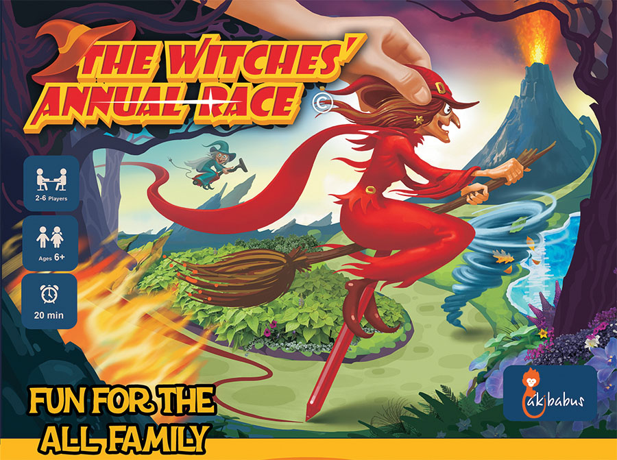 The Witches Annual Race Game Box