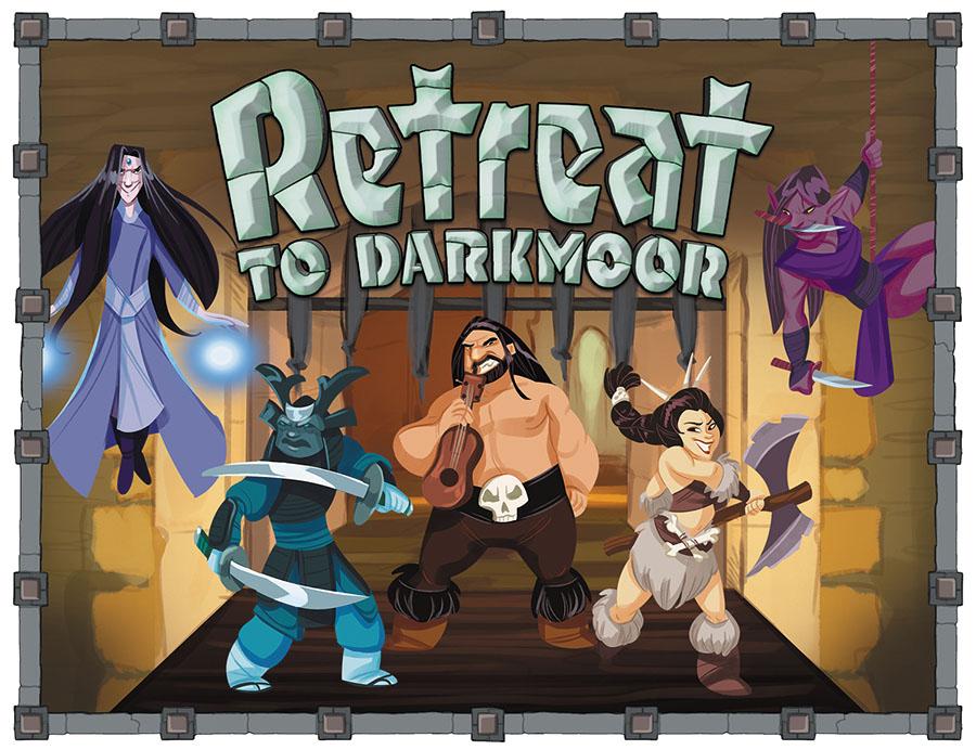 Retreat To Darkmoor Box Front