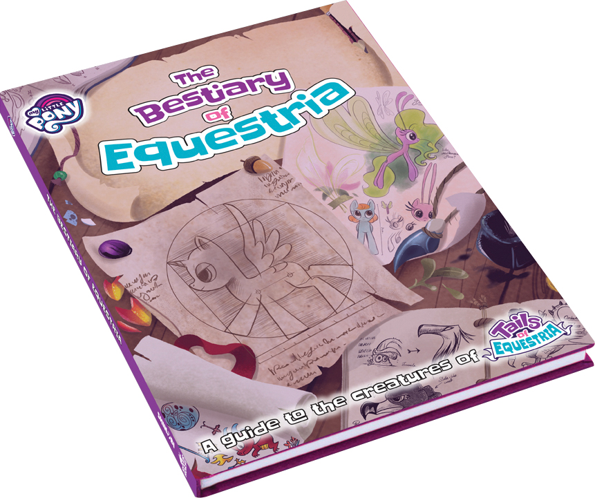 My Little Pony: Tails Of Equestria Rpg - Bestiary Of Equestria Game Box