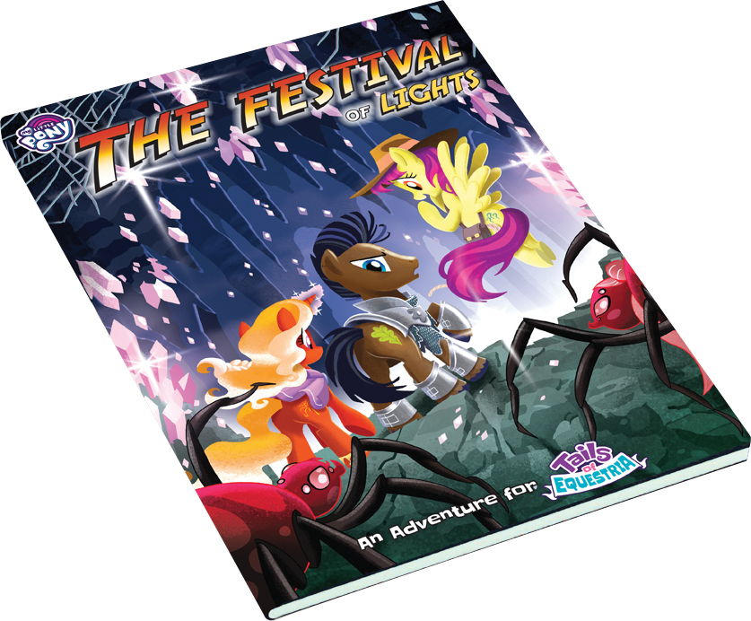 My Little Pony: Tails Of Equestria Rpg - The Festival Of Lights Adventure Expansion Game Box
