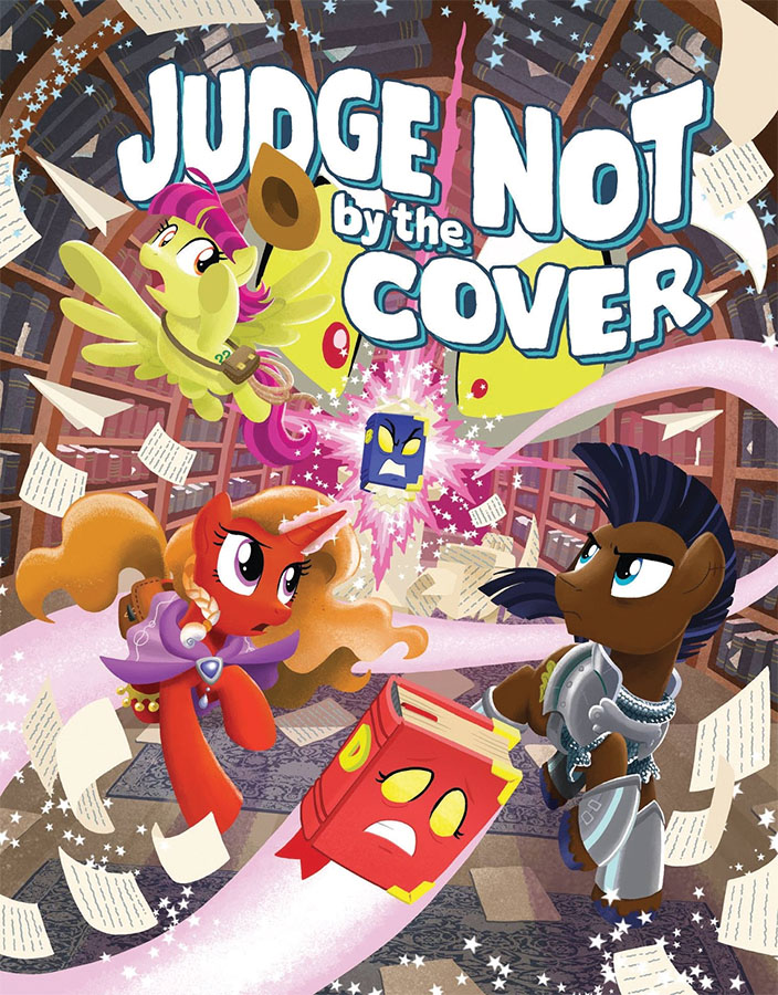 My Little Pony: Tails Of Equestria Rpg - Judge Not By The Cover Game Box