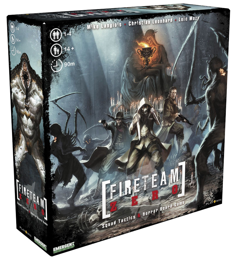 Fireteam Zero Box Front
