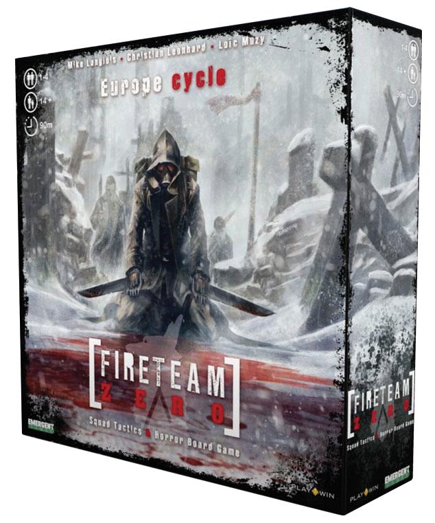 Fireteam Zero: Europe Cycle Expansion Box Front